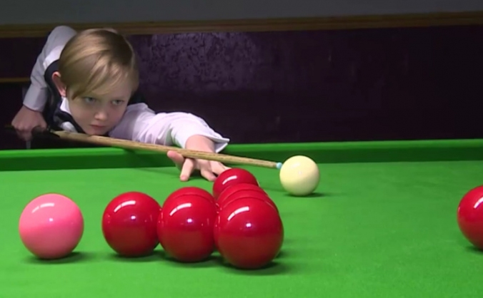 10-year-old Dylan Smith tipped for Snooker stardom