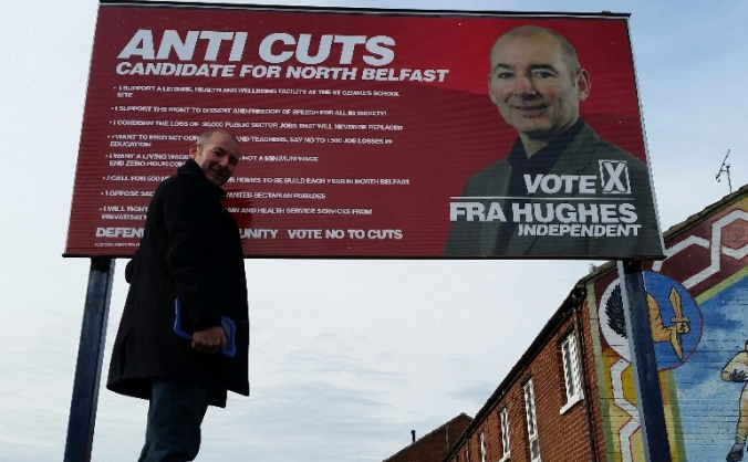 Elect Fra Hughes to Northern Ireland Assembly