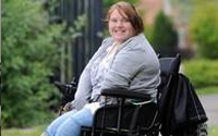 Monsters Wheelchair Fund - Hollie and Hilton go 4x4
