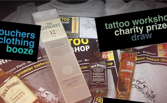 Tattoo Workshop Charity Prize Draw