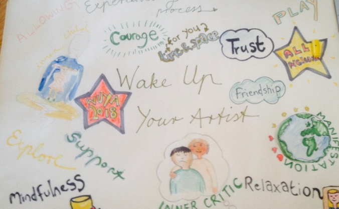 Wake Up Your Artist - Refugee places