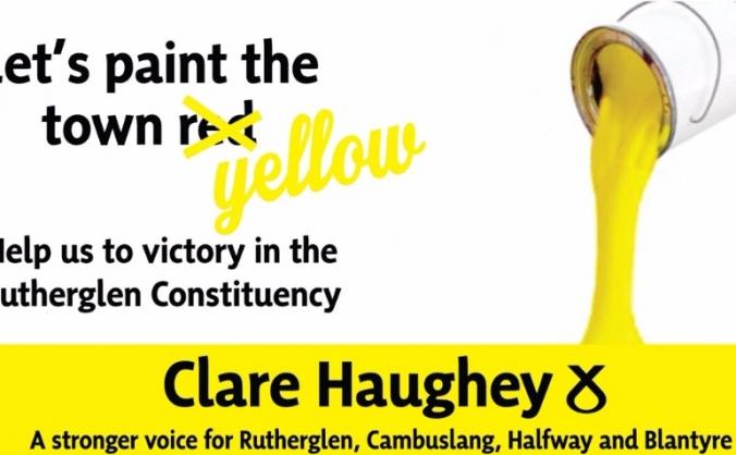 Elect Clare Haughey SNP for Rutherglen