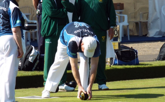 Scottish Select Visually Impaired Bowlers 2016