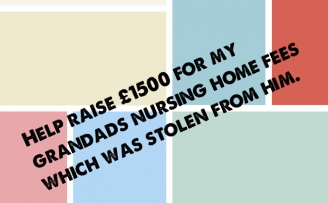 Help Grandad raise care fees