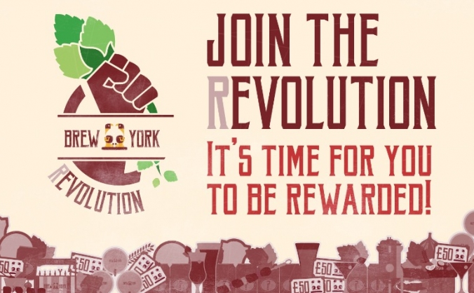 JOIN THE BREW YORK (R)EVOLUTION!