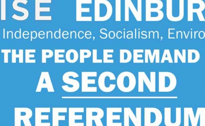 A Banner For A Second Referendum