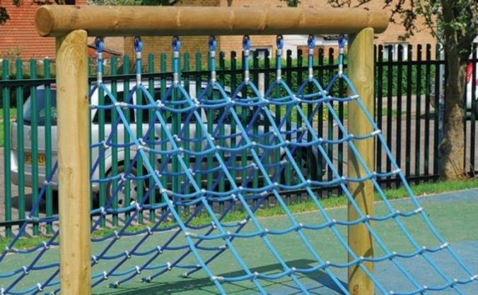 Knowl Hill School Climbing Net