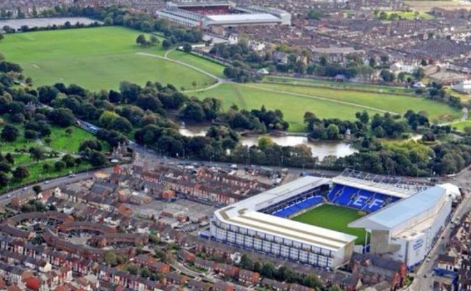 Everton banners/tifos etc