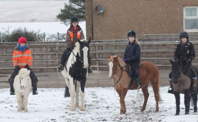 Improving lives through horses in the Borders