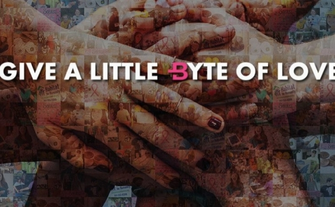 Give Bytes - the future of crowdfunding