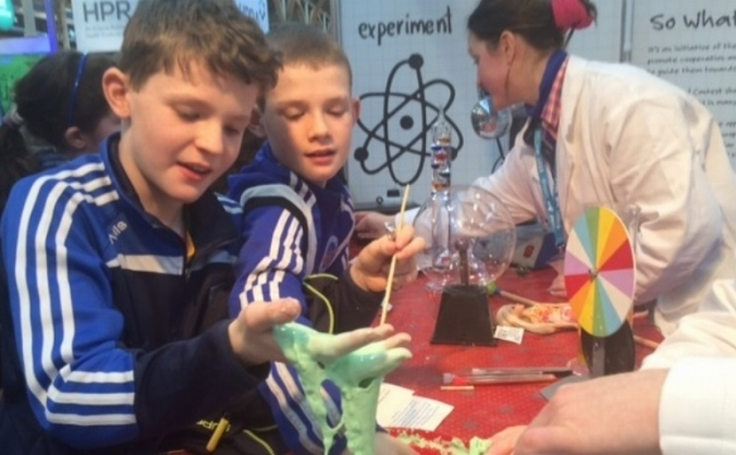 Junior Einsteins nourishing a love of science