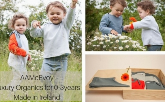 AAMcEvoy organic childrenswear | Made in Ireland |