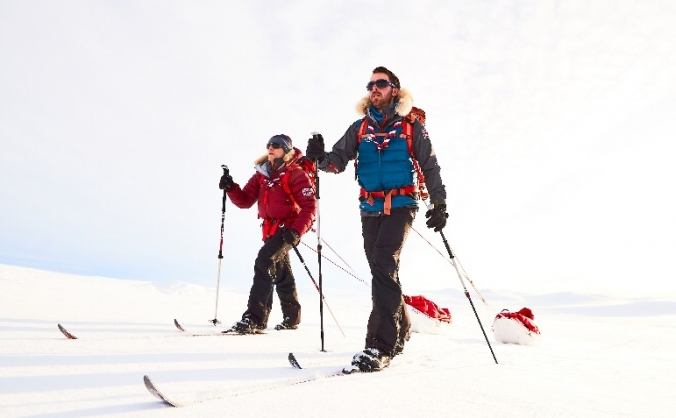 Help fund the first scout team to the South Pole!