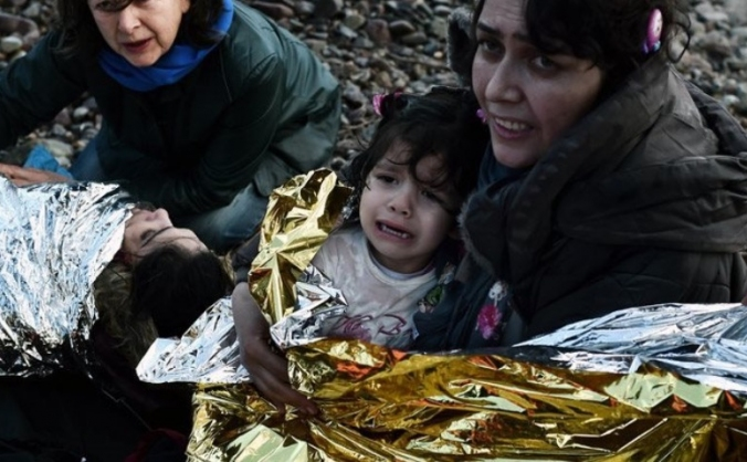 Providing healthcare to refugees in Lesvos