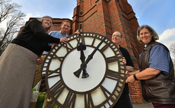 Heritage Clock for Cradley