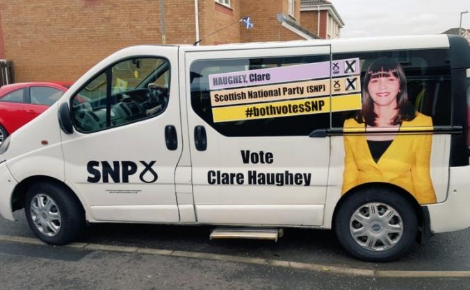 SNP Rutherglen Constituency minibus fund