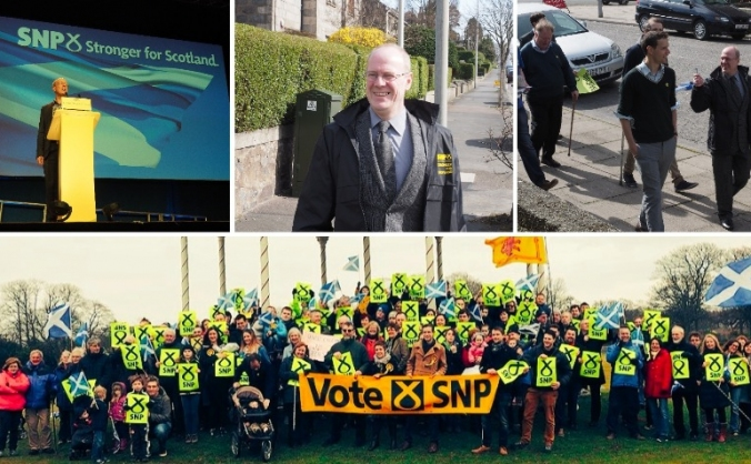 Re-elect Kevin Stewart for Aberdeen Central