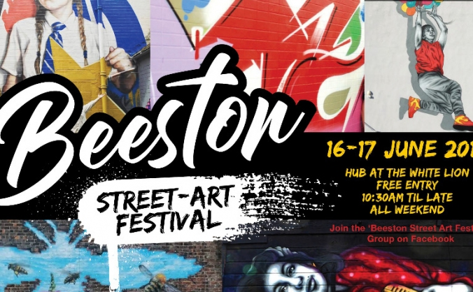Beeston Street Art Festival 16-17 June 2018