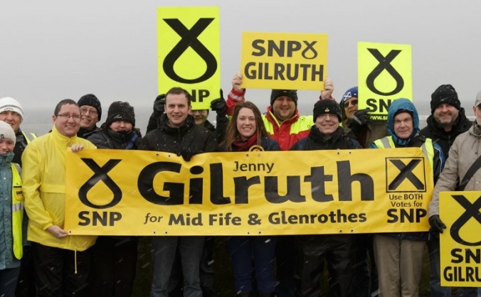 Jenny Gilruth SNP for Mid Fife & Glenrothes