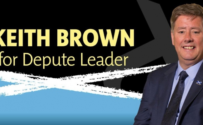 Keith Brown for Depute Leader