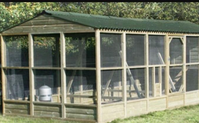 Bio-secure chicken rehousing