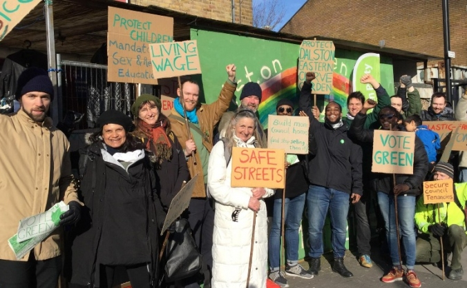 Hackney Greens 2018 Council Elections Campaign