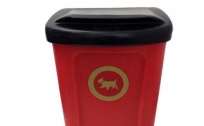 Baddeley Green dog poo bin project