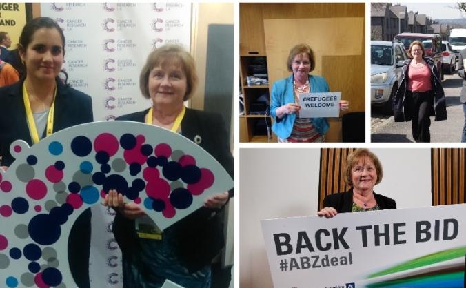 Re-elect Maureen Watt for Aberdeen South & N.K.
