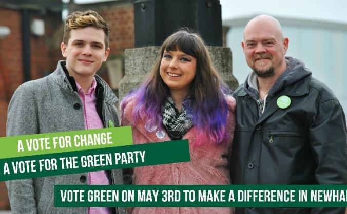 Let's make Newham Green this May!