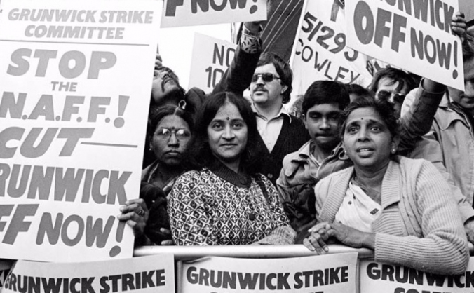 Commemorating 40 years since the Grunwick Strike