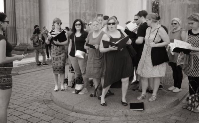 Get the Swedish church choir in London to Rome!