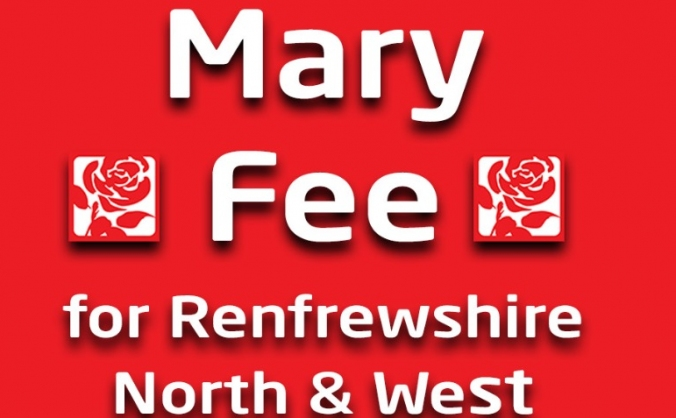 Elect Mary Fee for Renfrewshire North & West