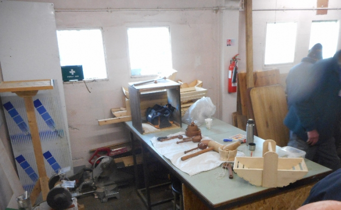 Men In Sheds In Powys (MISIP)