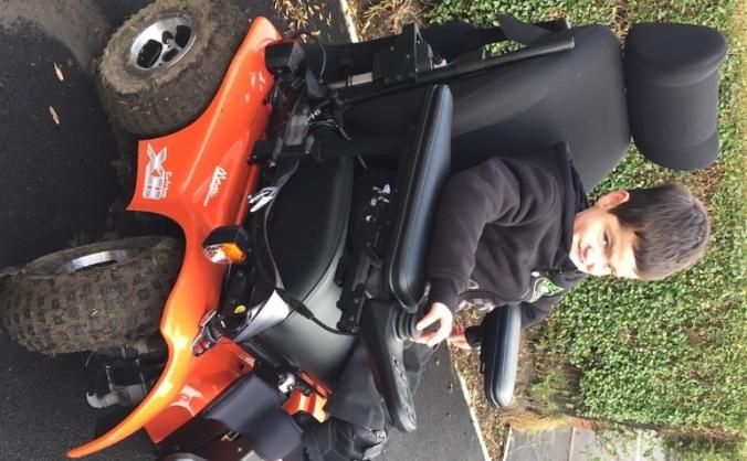 All Terrain Wheelchair for Alby