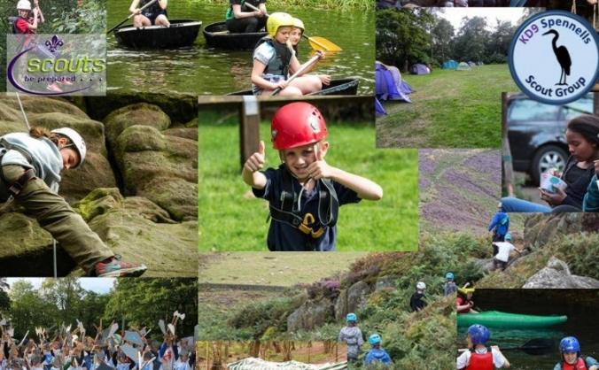 9th Kidderminster Scout Group Camp Equipment