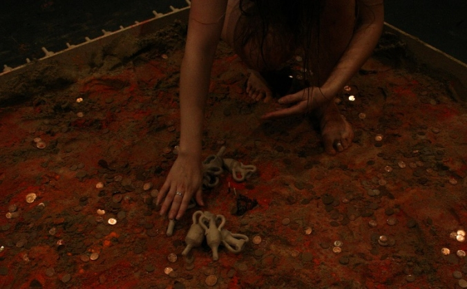 EMBERS a new performance piece by CRY WOLF Theatre