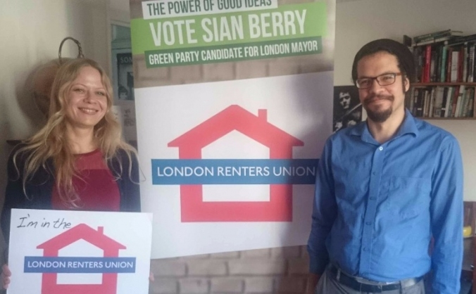 Green Party's North East London 2016 campaign