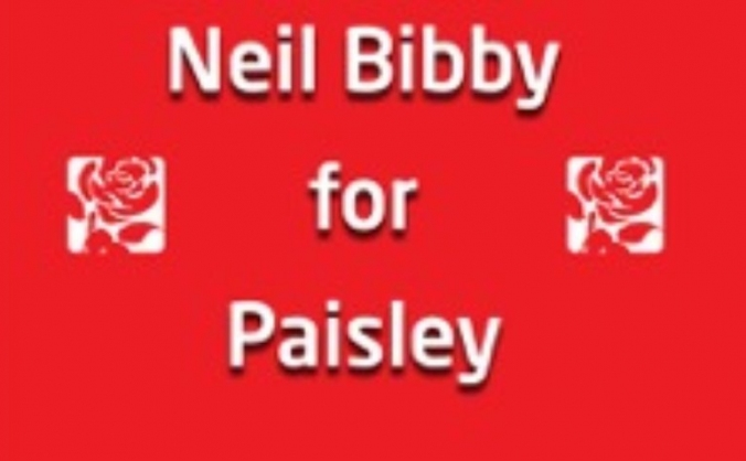 Neil Bibby for Paisley