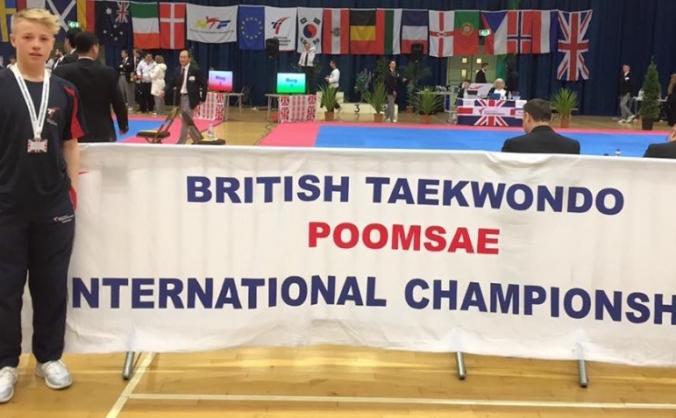 Thomas taekwondo journey #BT50