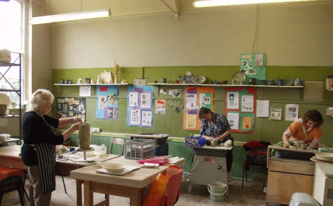 Alphington Community Art & Pottery Project