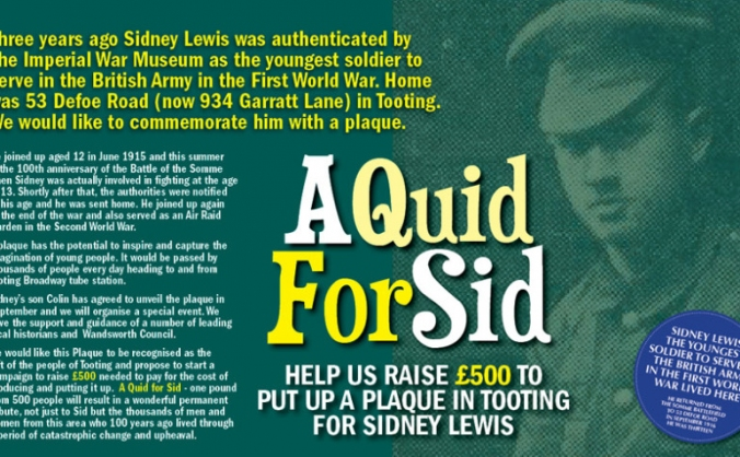 A Quid for Sid