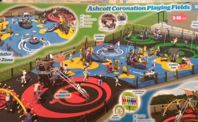 New Playground for Ashcott Playing Fields