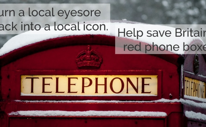 Preserve the British Red Phone Box