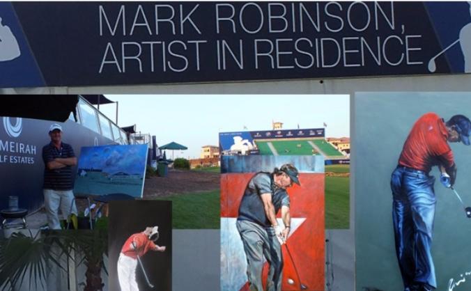 Golf Art Exhibition in London