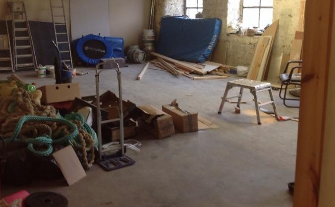 New Spin Bike Studio!