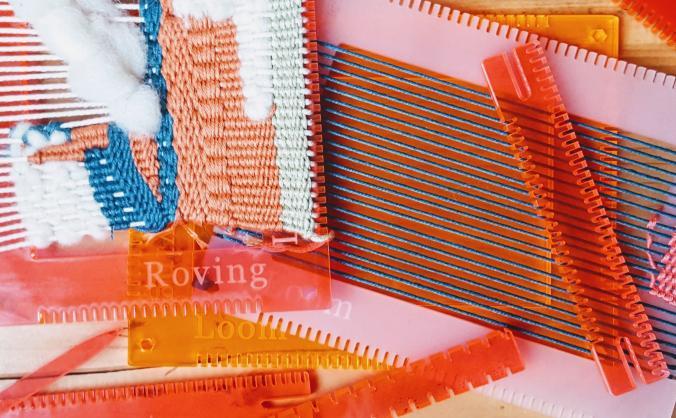 Roving Loom - weaving hope