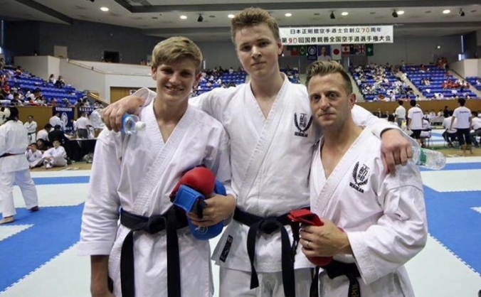 Help Karate Kids reach Japan