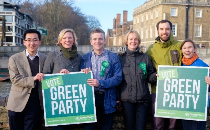 Help elect more Green councillors in Cambridge