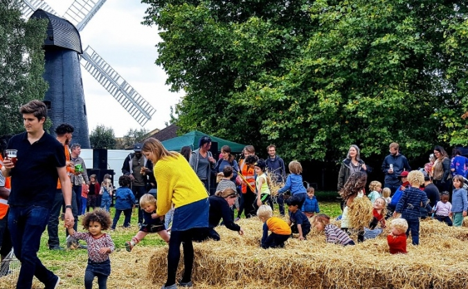 Learn, bake, mill at Brixton Windmill