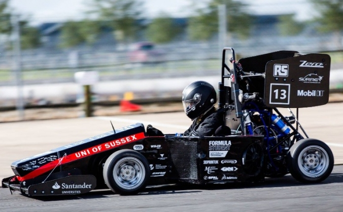 Mobil 1 Sussex Racing - Formula Student